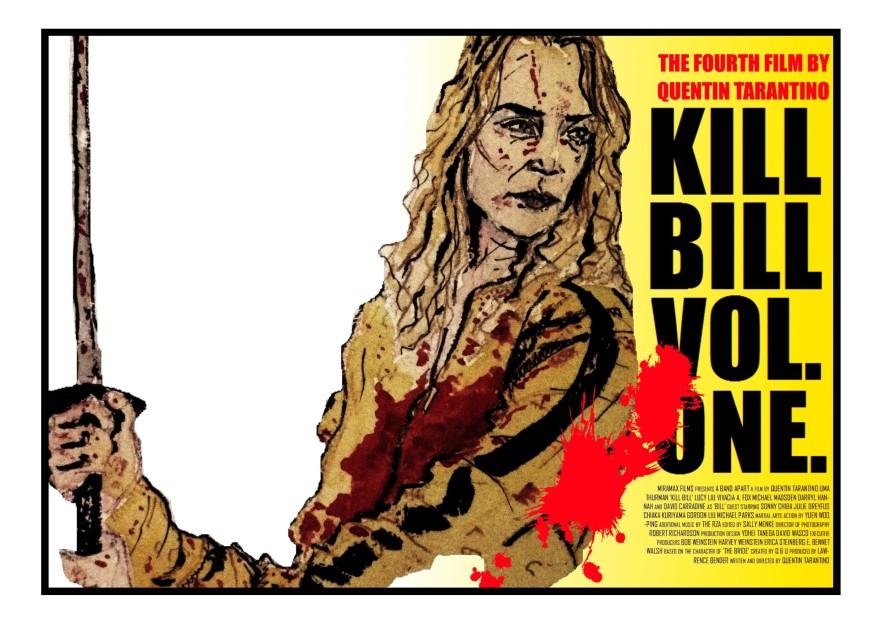 KILL BILL POSTER V. 2